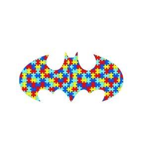 Accessories - Autism Awareness Batman Vinyl Decal